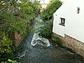 Washford River downstream from Mill Street footbridge - geograph.org.uk - 2372655.jpg