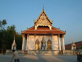 Wat Phra Mahathat - The Sangha-avasa (Wat Phra Baromathat Nakhon)