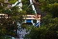 Water distribution pipeline near Gandipet lake.jpg