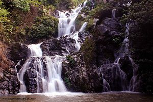 Nagaon district - Waterfalls near Chapanala in Nagaon district of Assam