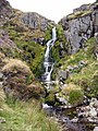 Waterfall in the Hen Hole - geograph.org.uk - 1085948.jpg