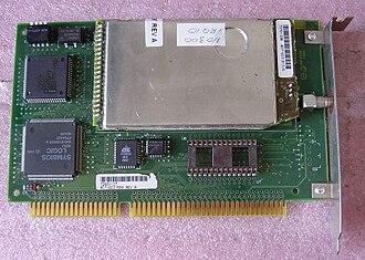WaveLAN - Image: Wavelan Half ISA 2.4 G Hz