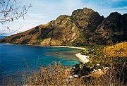 Bay of Yalobi, Waya Island