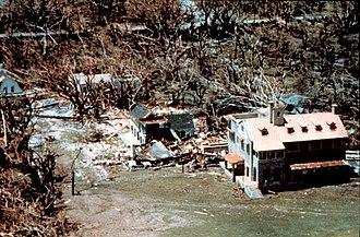 Charles Deering Estate - Image: Wea 00529 Hurricane Andrew Buildings on the Deering Estate