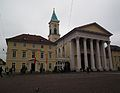 Weinbrennerhaus und evangelische Stadtkirche KA Februar 2012.JPG