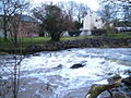 Weir on Creedy at Half Moon Village - geograph.org.uk - 141924.jpg