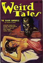 Weird Tales cover image for March 1934