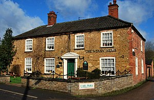 Denton, Lincolnshire - Welby Arms Denton.JPG