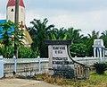 Welcome gate to Pematang Kerasaan Rejo, Bandar, Simalungun.jpg