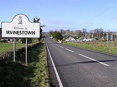 Welcome to Irvinestown, County Fermanagh - geograph.org.uk - 356659.jpg