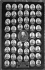 Welsh Wesleyan Ministers multiportrait