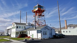 Wendover Air Force Base - Tower and operations building