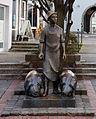 Werl, Skulptur von Joseph Wäscher, der Schweinehirt (1).jpg