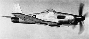 Westland Wyvern - A Wyvern prototype with the Rolls-Royce Eagle piston engine
