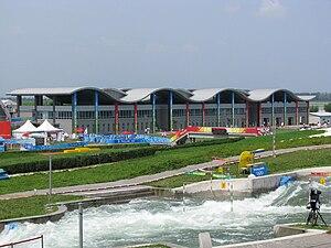 Shunyi Olympic Rowing-Canoeing Park - Image: Whitewater Slalom 2008 Olympics 2