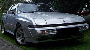 Mitsubishi Starion - Image: Widebody Starion