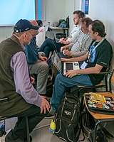 Wikimania 2019 Multimedia Space, Stockholm (P1090705).jpg