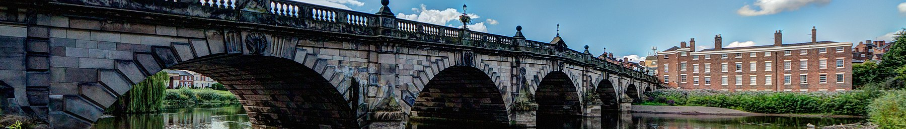 Wikivoyage banner Shrewsbury English Bridge.jpg