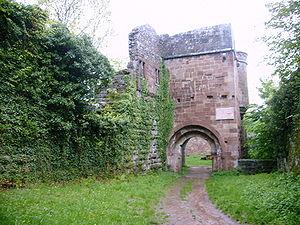 Wildenberg Castle (Kirchzell) - Image: Wildenburg 1