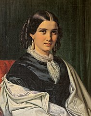 Portrait of Mrs. Vilhelmine Heise