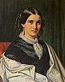 Wilhelm Marstrand, Portræt af Fru Vilhelmine Heise f. Hage (1838-1912), 1856, 0116NMK, Nivaagaards Malerisamling.jpg
