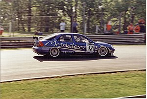 Will Hoy - Hoy driving for Ford in the 1998 British Touring Car Championship.