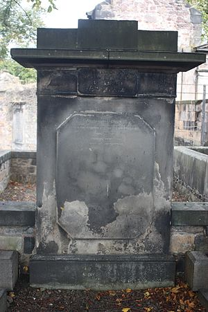 William Creech - William Creech's grave, Greyfriars Kirkyard