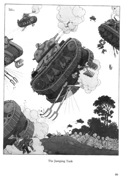Tanque saltador