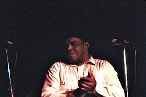 Willie Dixon - Dixon at Harry Hope's in Cary, Illinois, 1979