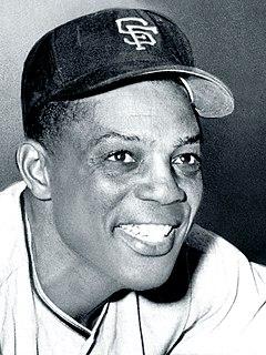 Willie Mays American baseball player