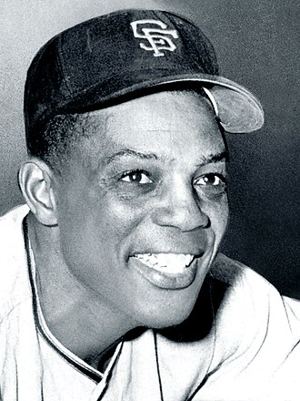 30–30 club - Image: Willie Mays cropped