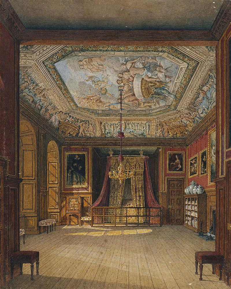 Виндзорский замок, Королевская столовая, автор Чарльз Уайлд, 1816 - royal coll 922108 313689 ORI 2.jpg