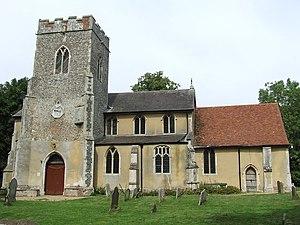 Witnesham - Image: Witnesham Church of St Mary