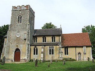 Witnesham village in the United Kingdom