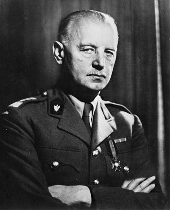 Władysław Sikorski, Polish commander in chief ...