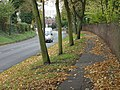 Wollaton Road and the Park wall - geograph.org.uk - 1040852.jpg