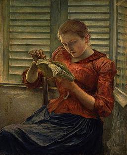 Woman Reading (Kuroda Seiki)