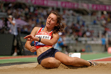 Women heptathlon LJ French Athletics Championships 2013 t144504.jpg