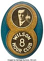 Woodrow Wilson, Great 1916 Novelty Button.jpg