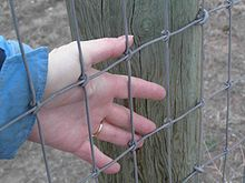 Agricultural fencing - Wikipedia