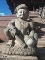 Wrestler statue at Nyatapola.jpg