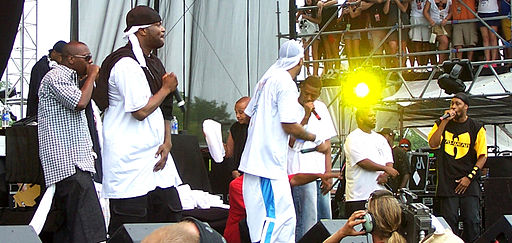 Wu Tang Clan on Stage