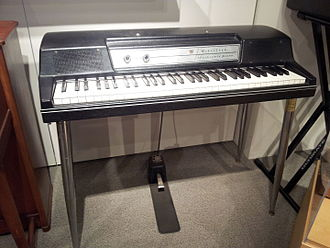 Wurlitzer electric piano - Image: Wurlitzer Electronic Piano 200A, Museum of Making Music
