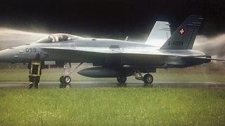 Hugo Wolf F/A-18C simulator Aircraft simulator