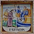 Xirivella. Via Crucis. Estació I 2.jpg