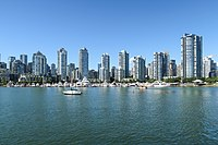 Yaletown, as seen from False Creek.