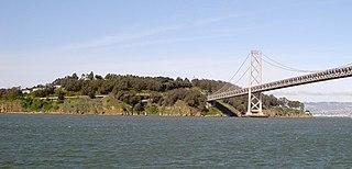 Yerba Buena Island Neighborhood of San Francisco, California, US