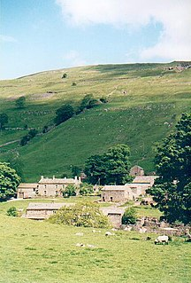 Yockenthwaite Hamlet in North Yorkshire, England