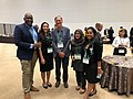 Young Scholars with Tim Hunt (Nobel Prize Winner 2001) at STS Forum 2019.jpg