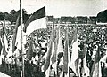 Youth congress in North Alun-Alun of Yogyakarta, Impressions of the Fight ... in Indonesia, p23.jpg